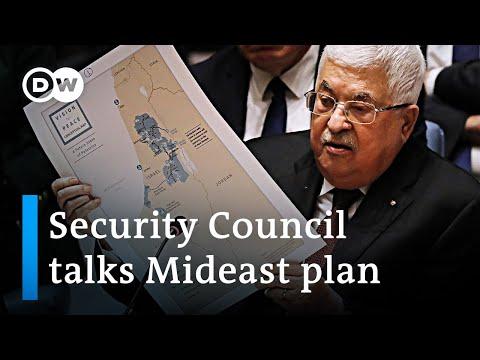 Palestine slams Trump Peace Plan at UN Security Council | DW News