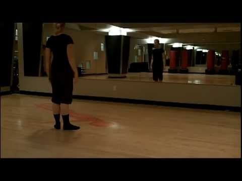 Tendue Exercise for Modern Dance Class (Horton Technique)