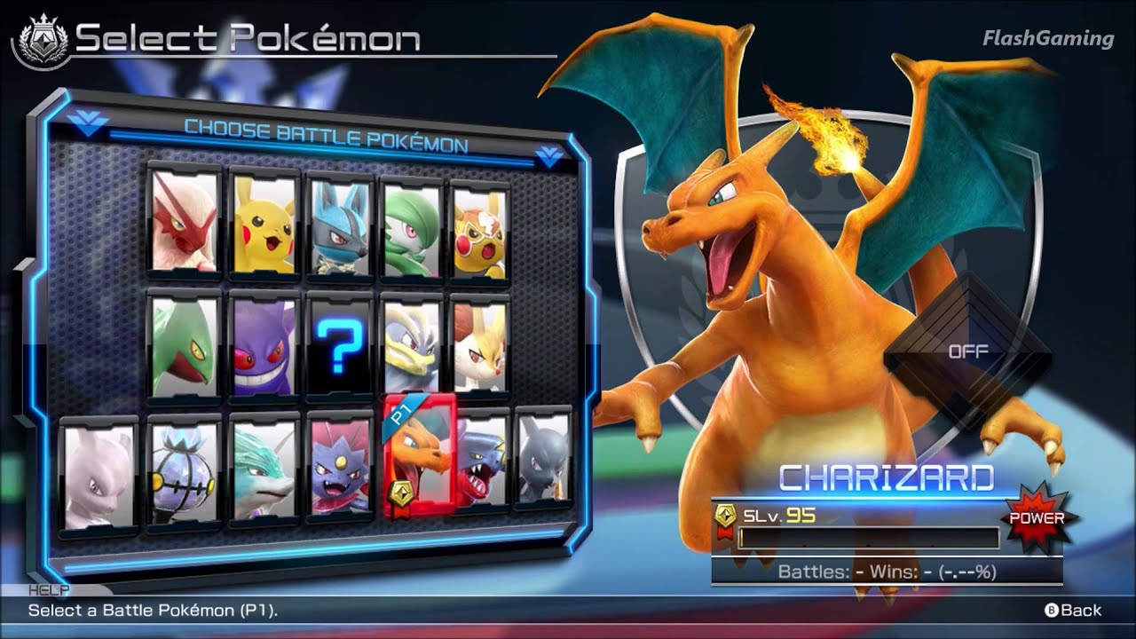 pokken tournament full roster all character all support sets