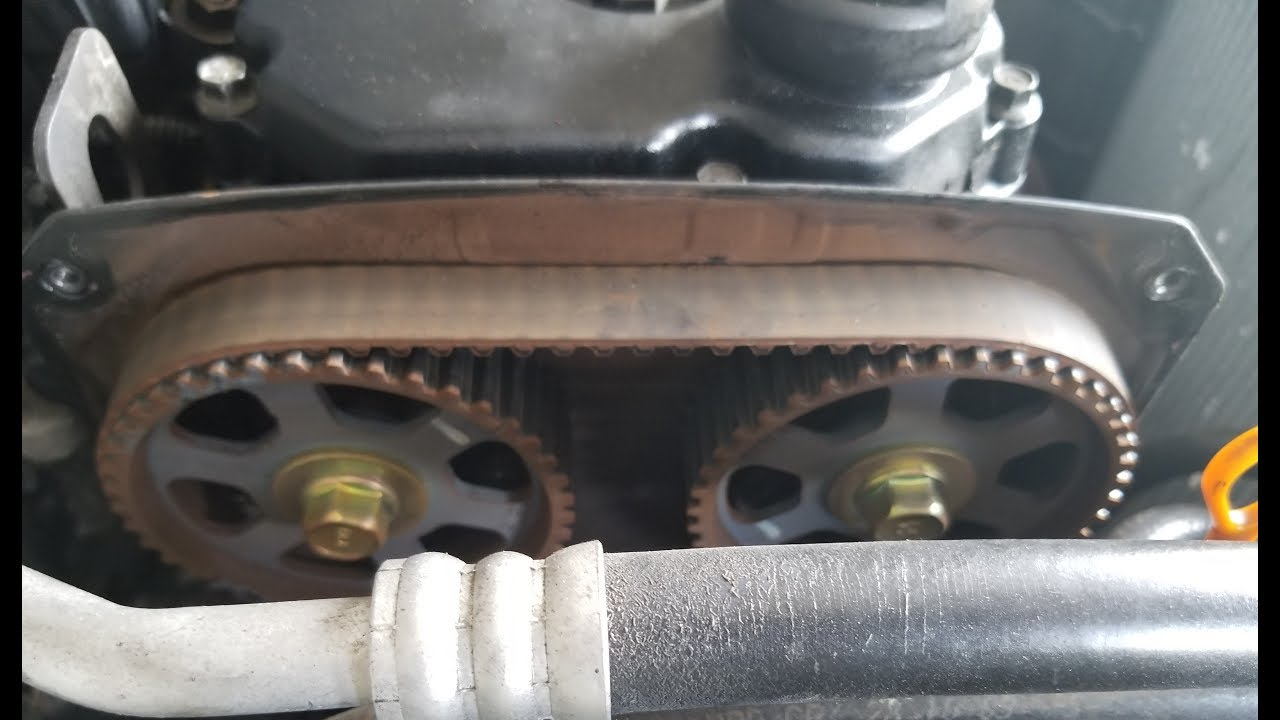 2004 Kia Rio Timing Belt Youtube