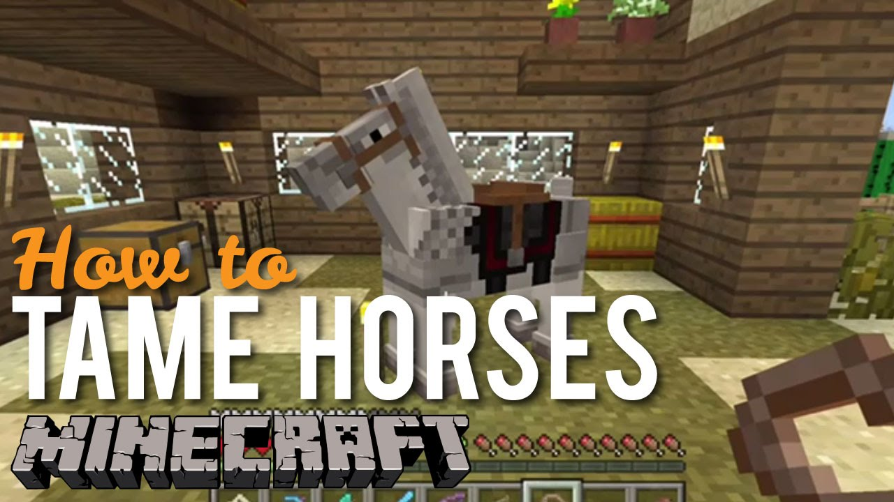 How to Tame Horses in Minecraft XBOX One
