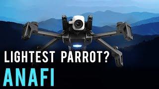 Parrot Anafi, the French DJI Mavic Pro