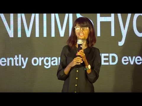 Beauty lies in the eyes of beholder | Anmol Rodriguez | TEDxNMIMSHyderabad