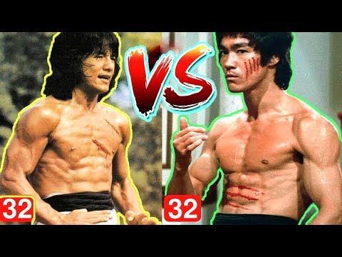 Bruce Lee vs Jackie Chan Transformation From 1 To 66 Years Old - 2018| World Top Celebrities TV