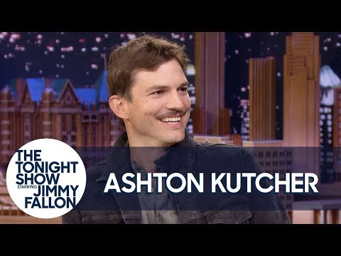 "Carolyn McArdle - Ashton Kutcher Blames Adele For His '70s-Inspired ""Spite Stache"" Mustache"