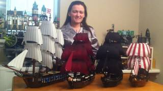 LEGO Pirate Ships Collection