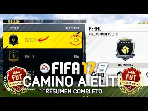FIFA 17 | ESTAMOS EN CAMINO DE ÉLITE MENSUAL! - FUT CHAMPIONS