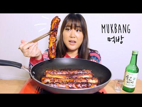 Giant Spicy Rice Cake   MUKBANG 먹방   자이언트 떡볶이