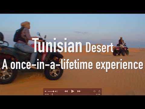 Tunisia desert: a once-in-a-lifetime experience