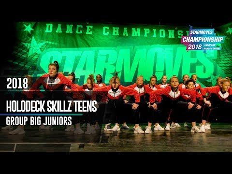 HOLLODECK SKILLZ TEENS [2nd place]   GROUP JUNIOR BIG   Starmoves Championship 2018