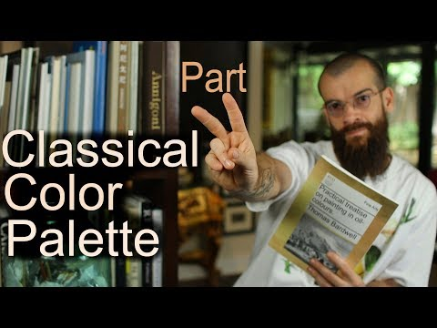 Classical Color Palette to Paint the Flesh by Thomas Bardwell. Part II. Cesar Santos vlog 019