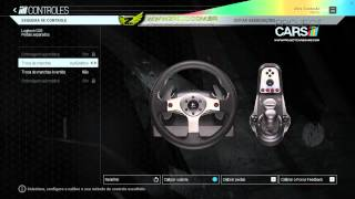 Project CARS - Tutorial ForceFeedBack PC G25/G27 - PTBR [60FPS]