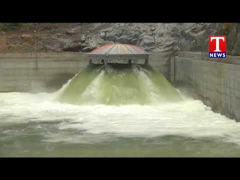 Wet run of P6 Kaleshwaram pump house Successful | T News Telugu