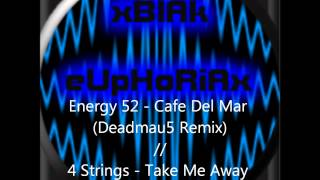 Cafe Del Mar (Deadmau5 Remix) // Take Me Away (Deadmau5 Remix) [Mashup By xBlAk eUpHoRiAx]