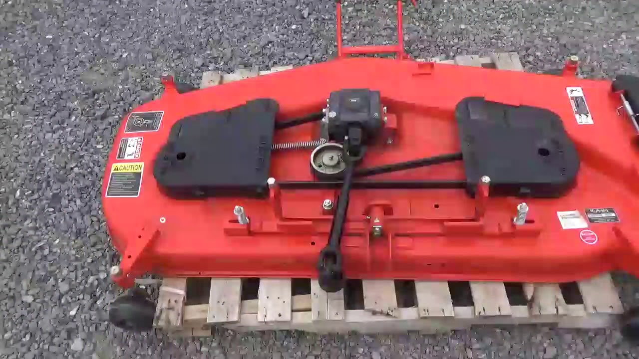 Kubota Belly Mower Decks : Kubota rck b bx quot belly mower deck attachment for