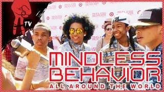 """Mindless Behavior """"All Around The World"""" Red Carpet Movie Premiere"""