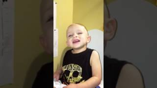 Potty training baby boy under age 2