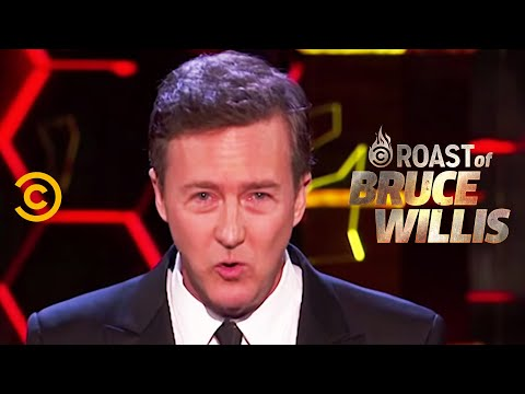 Edward Norton on Bruce's Power Moves - Roast of Bruce Willis