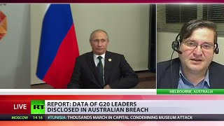 Putin, Obama & Merkel among victims of G20 leaders' data breach in Australia, typo to blame