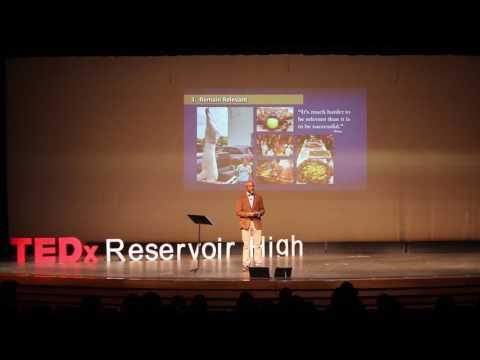 TEDx Talk Reservoir High School -James Page