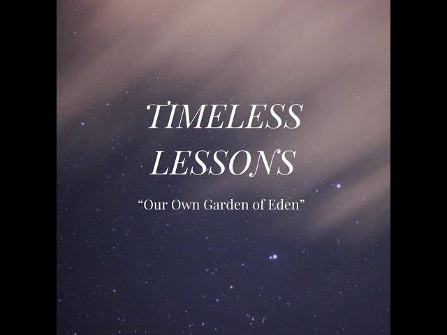 Our Own Garden of Eden