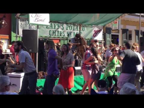 Shotgun Jazz Band 'Four or Five Times', FQF New Orleans 4/8/17