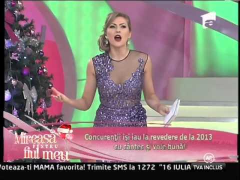 Concurenţii îşi iau de la revedere de la 2013 cu cântec şi voie bună