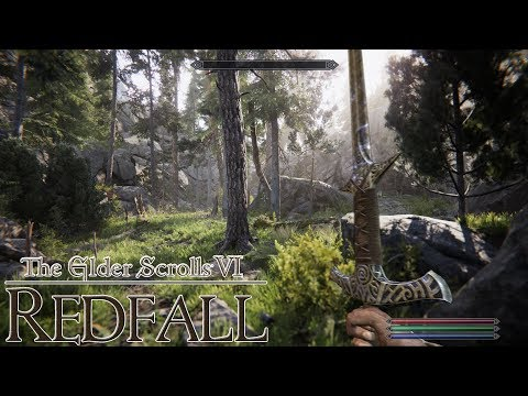 The Elder Scrolls VI: REDFALL (NEXT-GEN GAMEPLAY PS5/XBOX SERIES X)