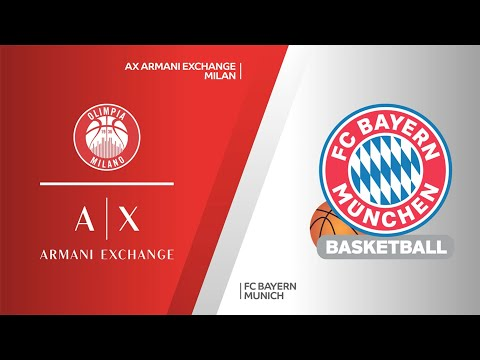AX Armani Exchange Milan - FC Bayern Munich Highlights | Turkish Airlines EuroLeague, PO Game 1