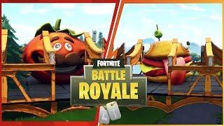Fortnite Food Fight LTM: Team Burger vs Team Pizza