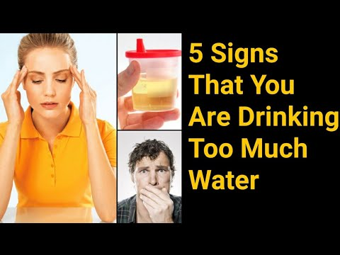 5 Warning Signs That You Are Drinking Too Much Water