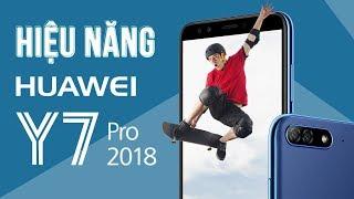 Đánh giá hiệu năng và thời lượng pin Huawei Y7 Pro 2018: Snapdragon 430