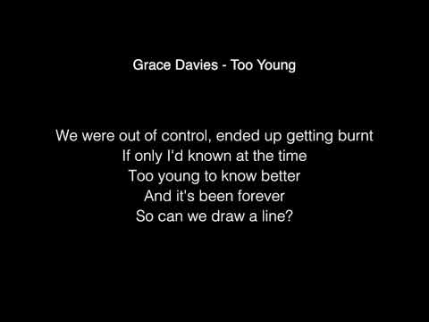 Grace Davies Too Young Lyrics From The X Factor Uk 2017 Youtube