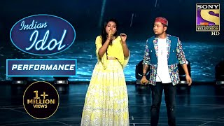 Arunita और Pawandeep ने दिया पे 'Pyar Hua Ikrar Hua' Duet Performance | Indian Idol Season 12