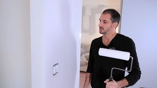 How to Paint a Wall with Brush & Roller | House Painting