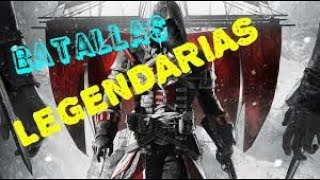 Assassins Creed Rogue Batallas de Flotas  Legendarias