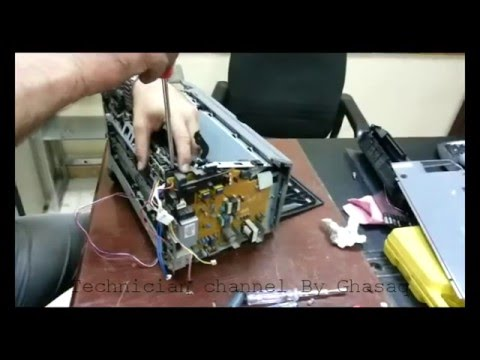 Disassemble Printer Canon LPB2900 and fuser repairiing in new technical method