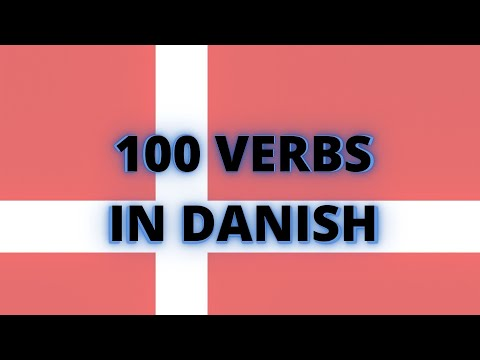 Learn Danish - 100 essential verbs with examples!