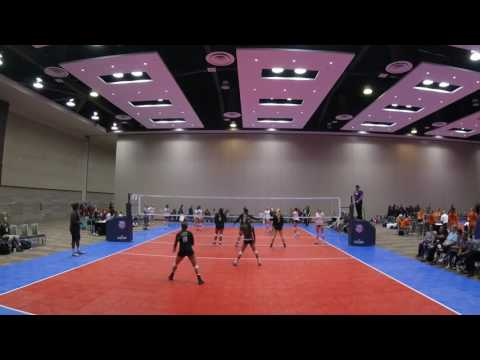 ClubOne AZ Vs Apex1 Championship Volleyball Festival Phoenix 2017