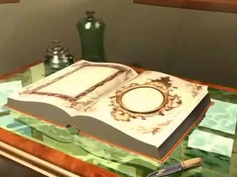 Книга открывается футаж 720х576 можно скачать