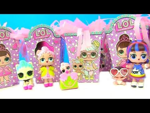 Куклы Лол Мультик! Новогодние сюрпризы Лол для My Toys Pink! lol Surprise Видео для детей