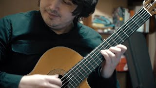 Я тебя никогда не забуду (Юнона и Авось) на гитаре. Ноты, табы.