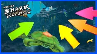 HOW TO BE INVISIBLE! - Hungry Shark Evolution - BUYING NEW INVISIBLE SHARK MOD! Clocking Device