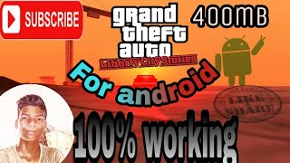 Gta liberty city stories Under 400mb ||||free download link ||||100% real