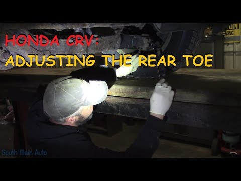 Honda CRV: Setting Rear Toe In Part V