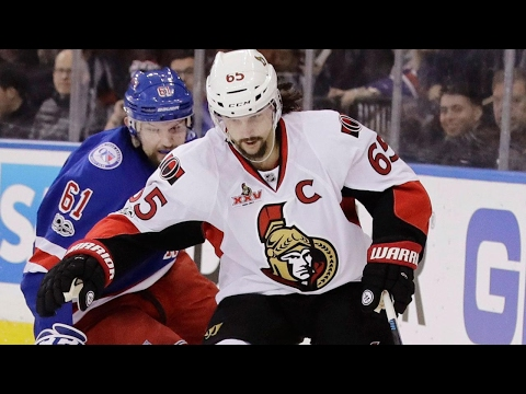 Karlsson helps Senators beat Rangers to book ticket to Conference Final