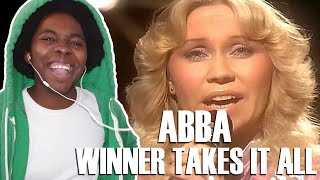 This Is Unique!! ABBA - The Winner Takes It All (REACTION!!!)
