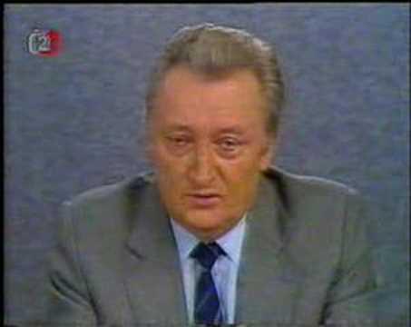 Sametová revoluce 1989 - projev Frantiska Pitry