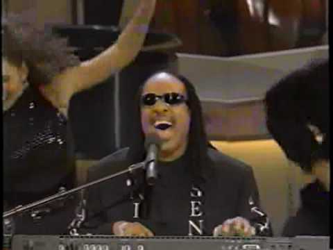 Joshua Redman & Stevie Wonder perform Duke Ellington tribute