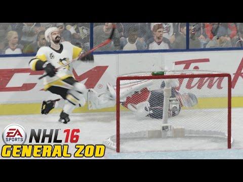 Bobrovsky Bites It - NHL 16 - Be A Pro ep. 86